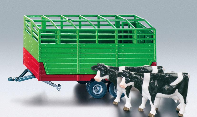 siku farmer tandemasser vee-aanhanger