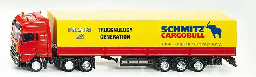 SIKU MAN Truck met Trailer