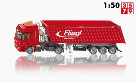 Mercedes Actros Vrachtwagen met kiepwagen met kantelbak